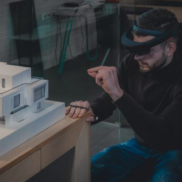 tap for architects hololense
